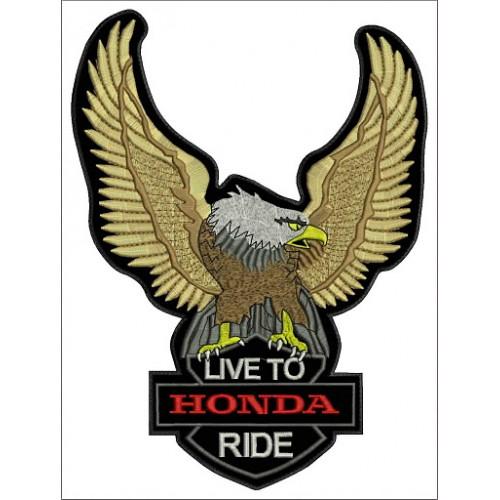 Nášivka orol Honda malá
